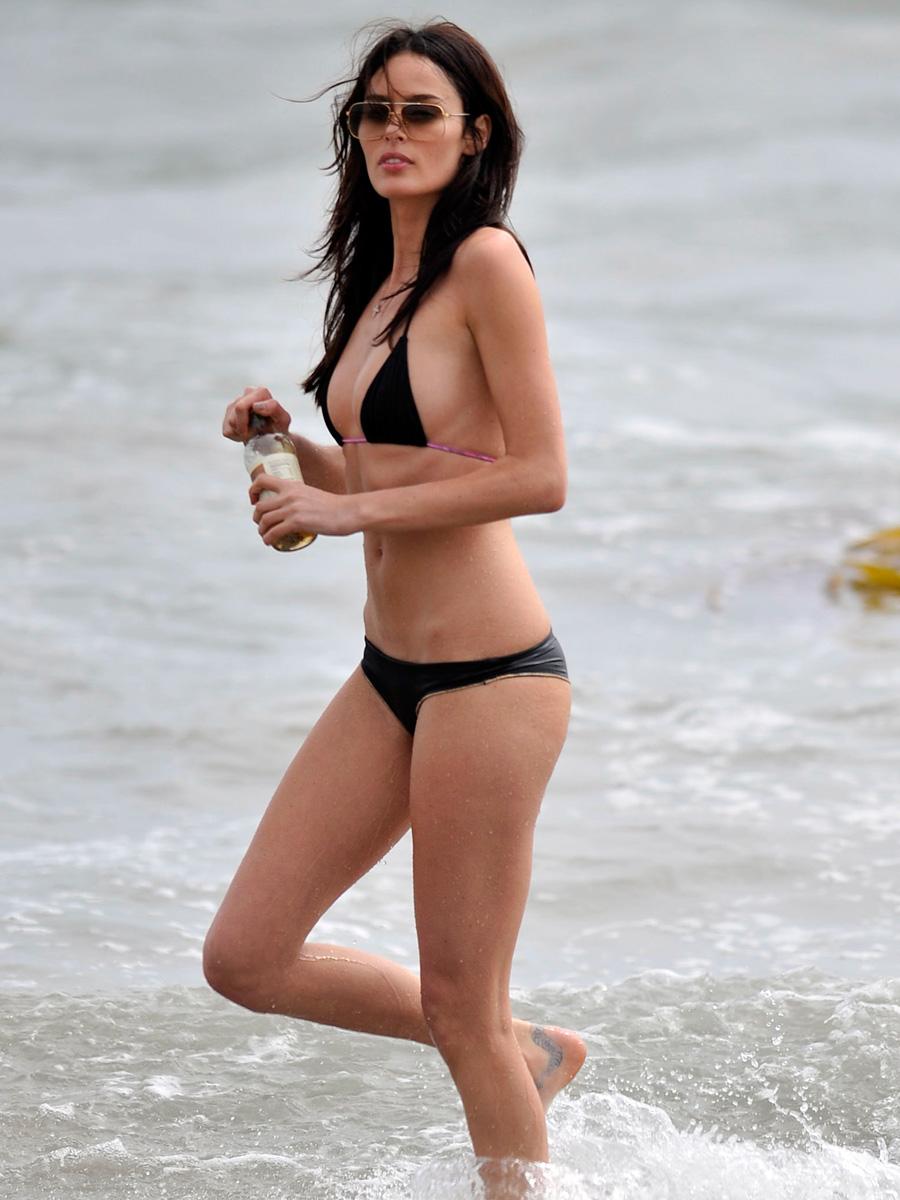 nicole trunfio hot bikini body photos in malibu best free pussy and