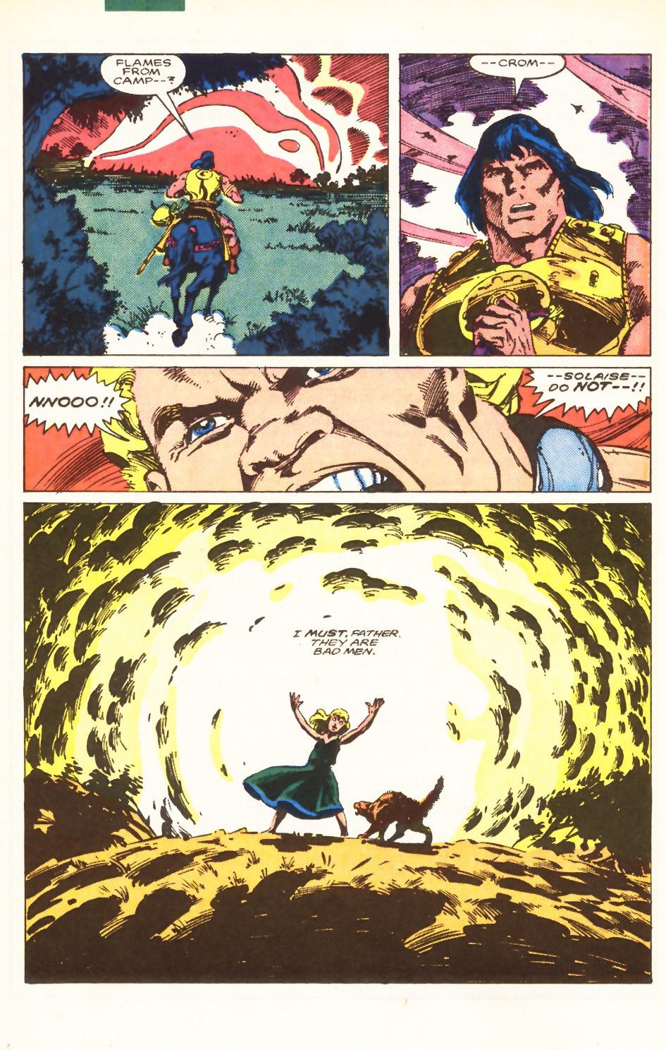 Conan the Barbarian (1970) Issue #198 #210 - English 18
