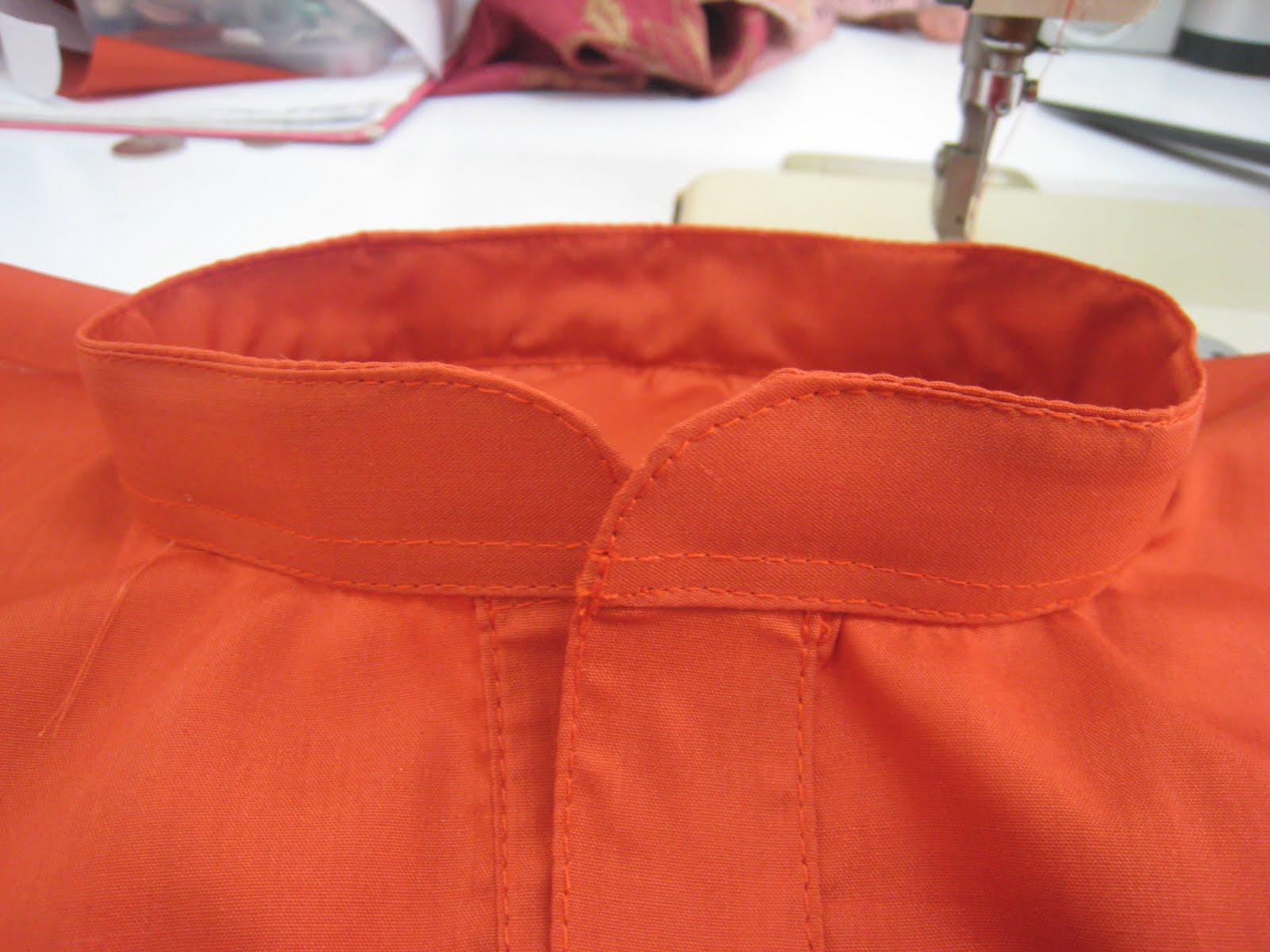 Untuk melihat video tutorial cara-cara menjahit leher baju melayu sila