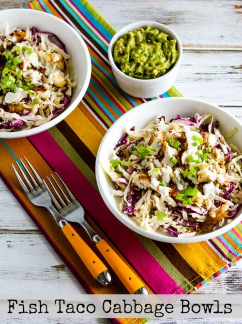 Low carb fish taco cabbage bowl kalyn 39 s kitchen for Low carb fish recipes