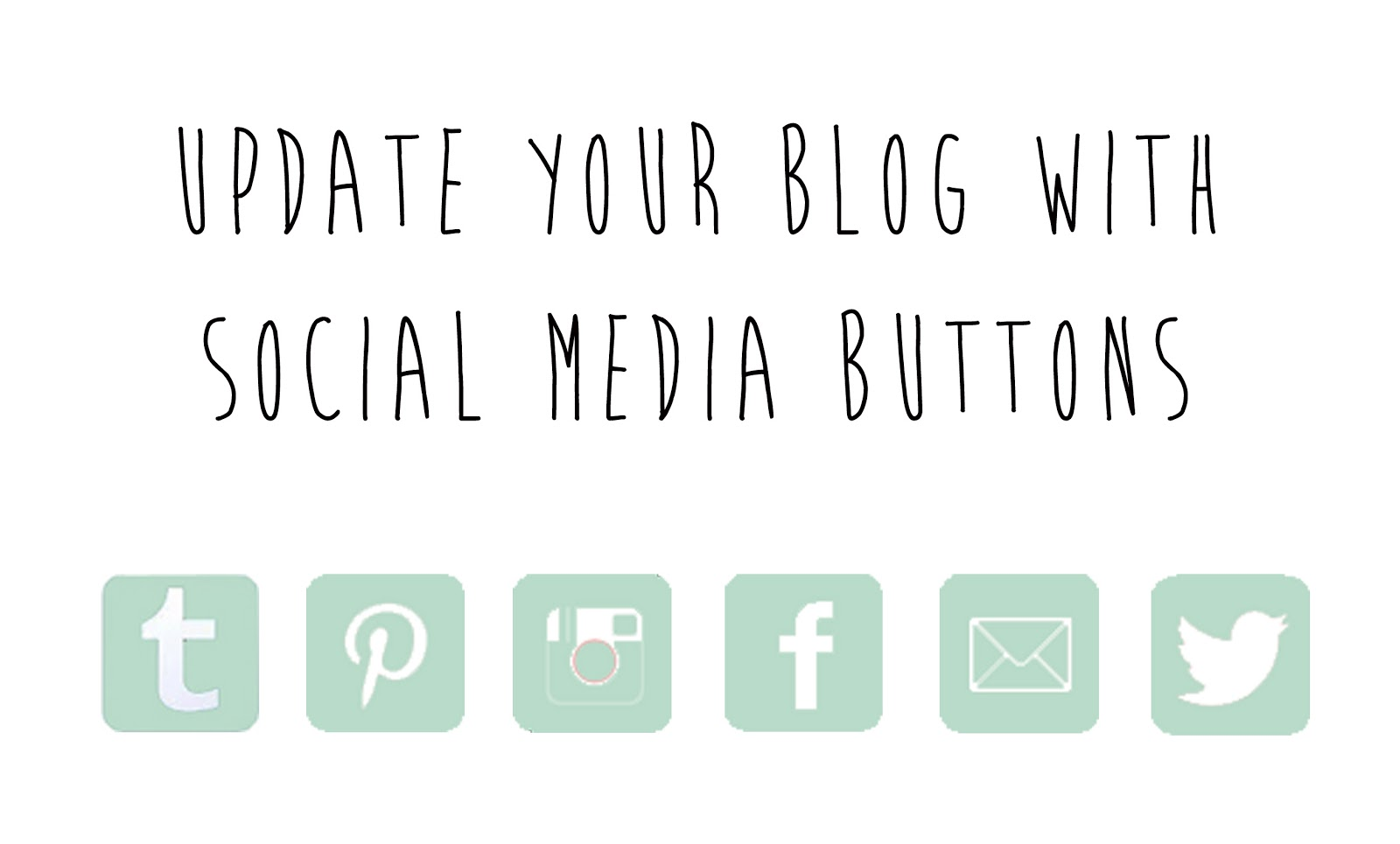 social networking icons your blog