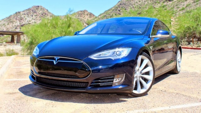 You can now sleep in the Tesla Model S at a price of 85 per night