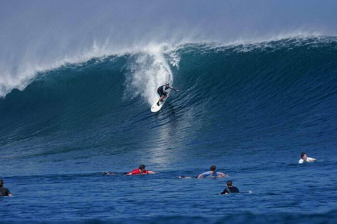G-Land Wave For Surfing