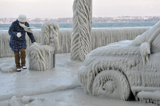What is causing the cold snap in Europe?