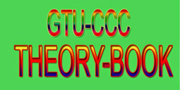 GTU-CCC THEORY BOOK