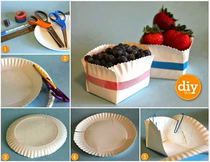 Paper Plates Diy Tutorial Step By Step #5.
