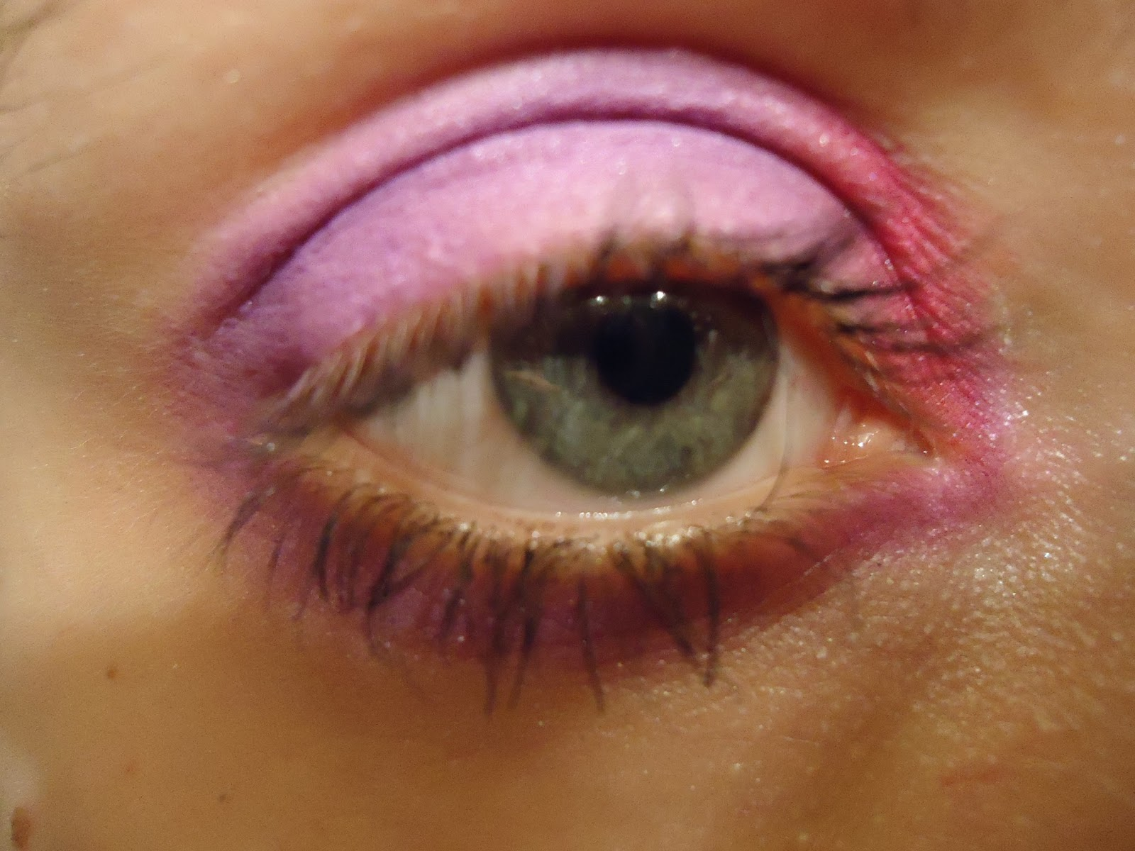 Purple/raspberry Cheshire Eyes