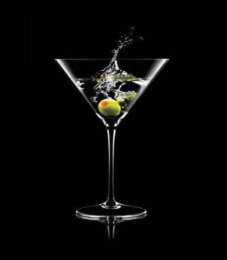 Dry martini.