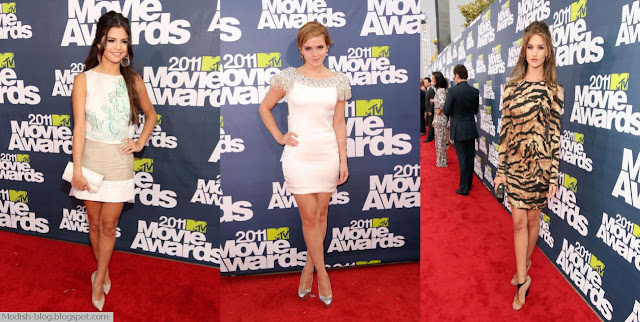 emma watson mtv movie awards after party dress. Emma Watson - Marchesa dress