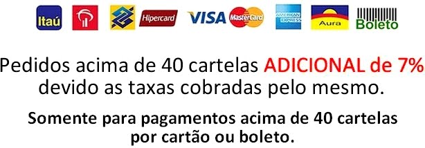 Pagamento por Cartão ou Boleto