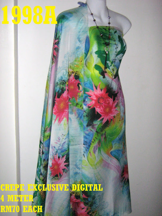 CP 1998A: CREPE EXCLUSIVE DIGITAL PRINTED, 4 METER