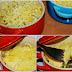 Cazuelitas de patata con champiñón y jamón picado