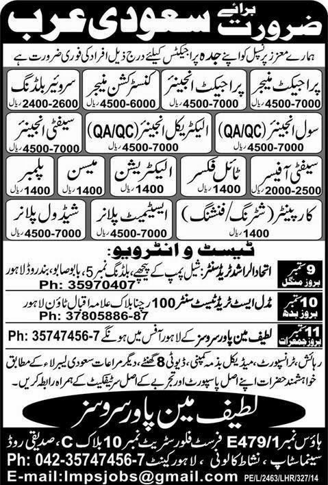 Engineering Jobs in Saudi Arabia Express Ads