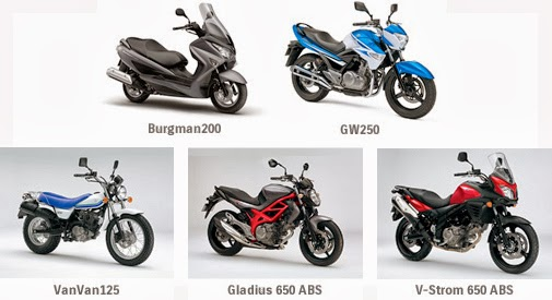 Sportmondo sports portal  New products   Suzuki introduces six