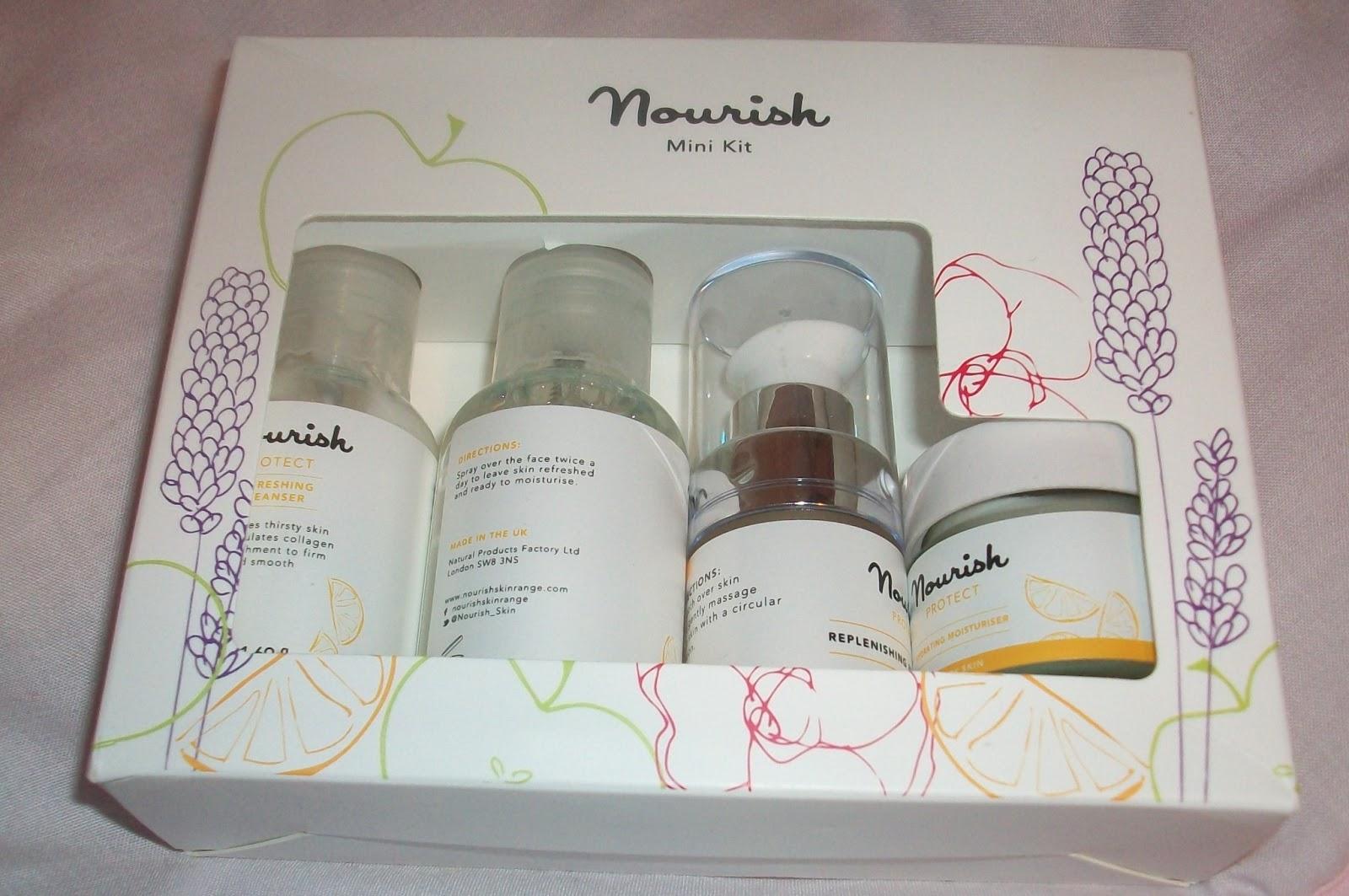 Nourish skin products