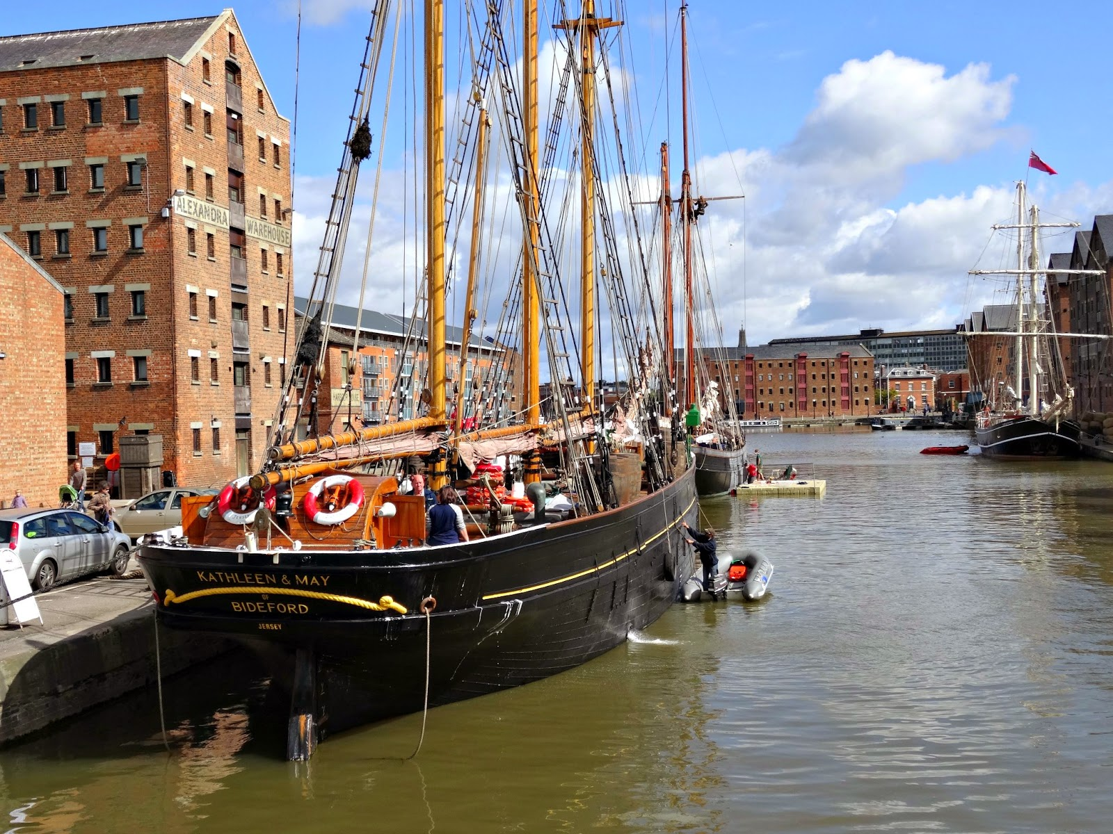 Gloucester Quays Filming location for Disney