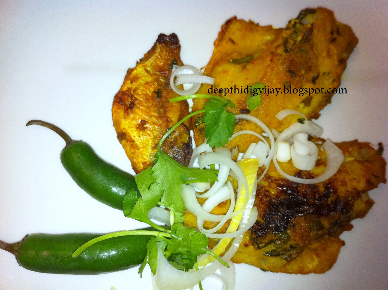 Good food recipes fish fry indian style ocean perch or for Fish fry recipe indian