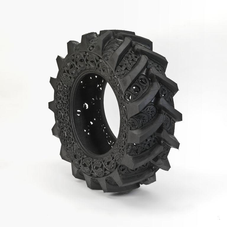 Tire Tread Wedding Band 97 Stunning