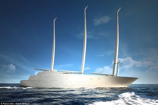 Russian Billionaire builds World's largest sailing yacht