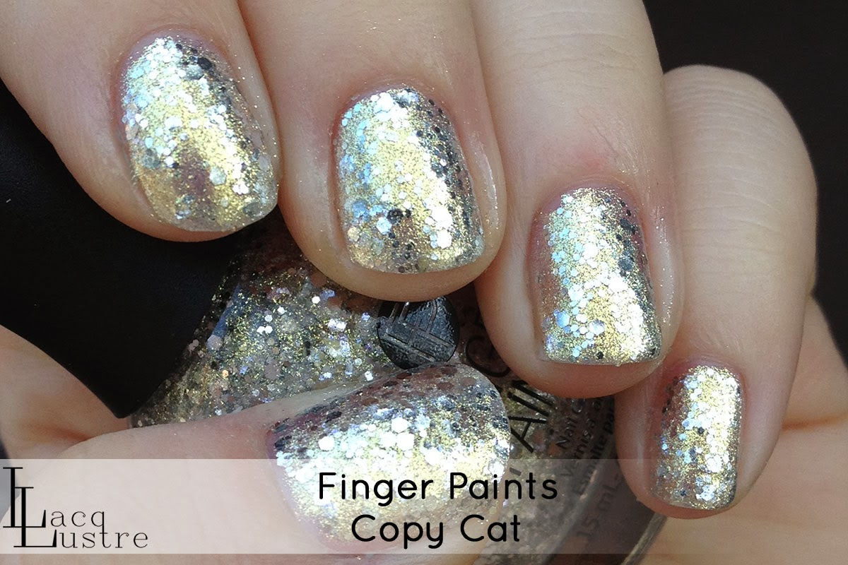 Finger Paints Copy Cat swatch
