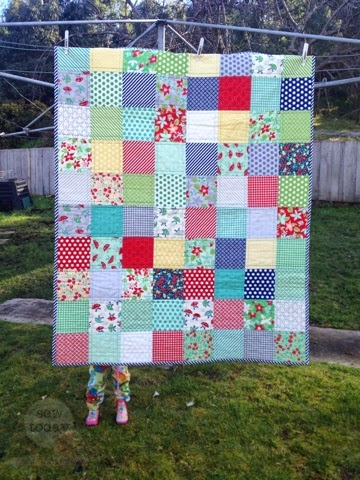Quilt layout idea