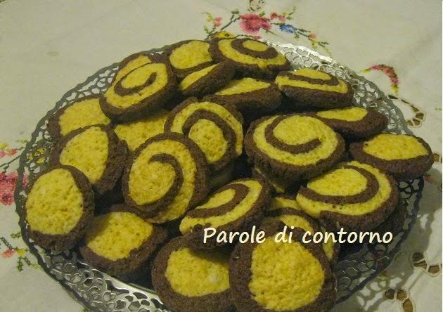 biscotti all'arancia e cacao