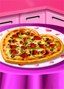 Пицца на День Валентина - Онлайн игра для девочек