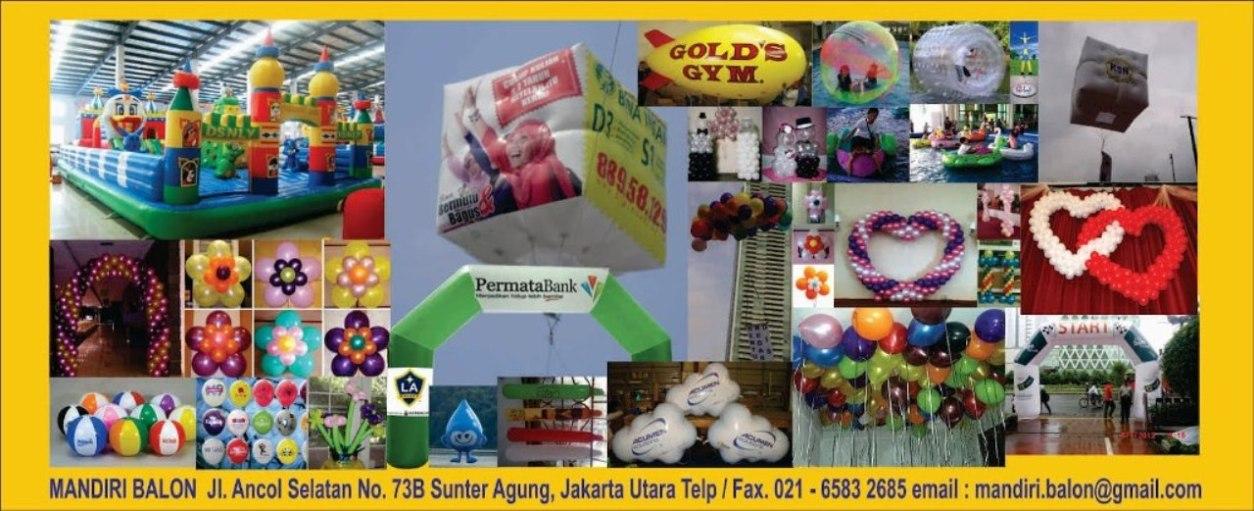 Promosi Produk Dengan Dekorasi Balon dan Balon Iklan