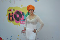 Sunny Leone, Dolly and Tanisha at  Zoom Holi Party