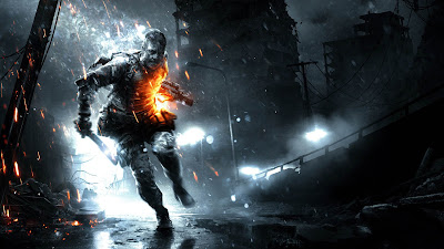 Battlefield 3 Aftermath Game Running Soldier HD Wallpaper