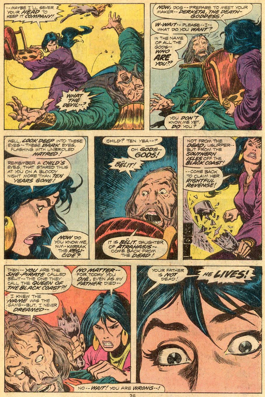 Conan the Barbarian (1970) Issue #72 #84 - English 15