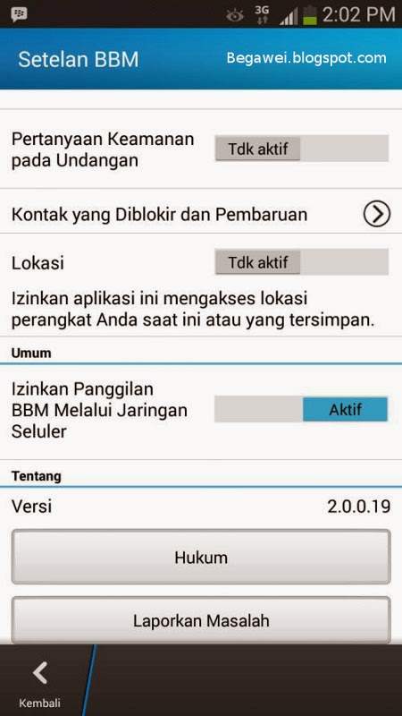 Free Download BBM for Android gratis