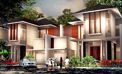 Model Rumah Mewah Terbaru 2014