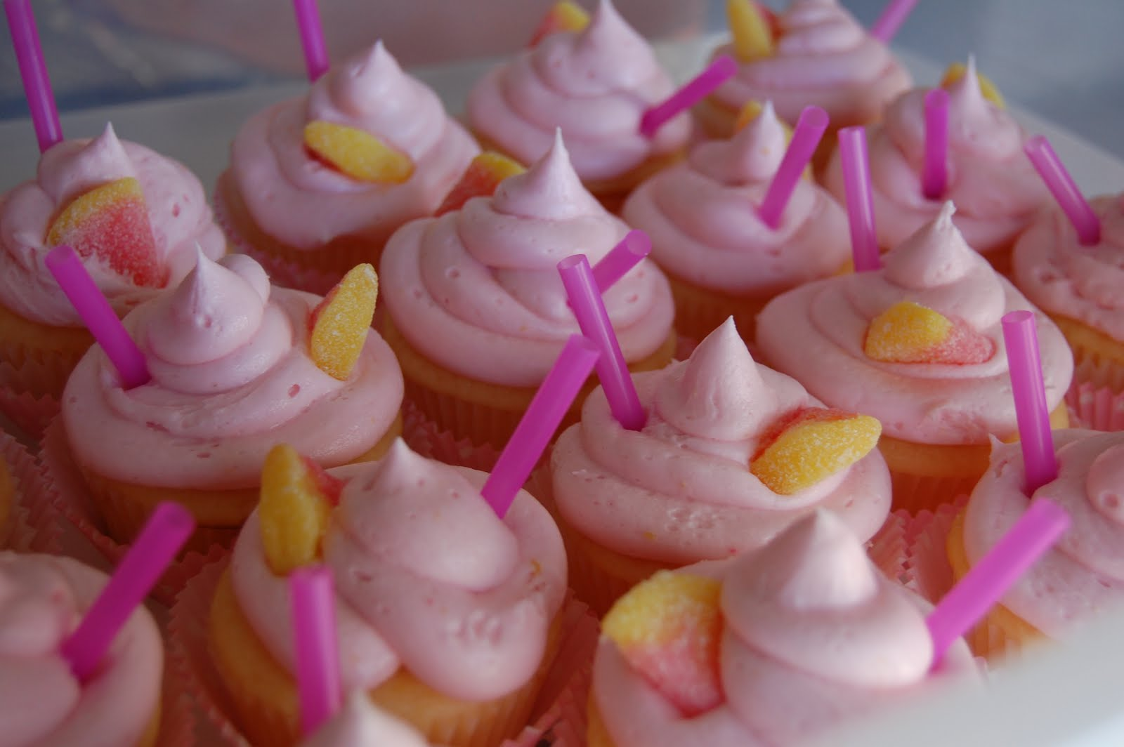 These Pink Lemonade Cupcakes are to die for ;) I have had several ...