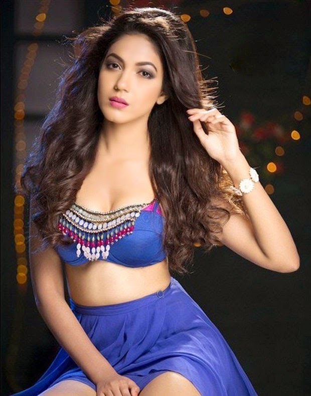 ritu varma images spicy hot blue dress gallery   shiner photos