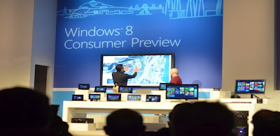 Microsoft releases Windows 8 Consumer Preview