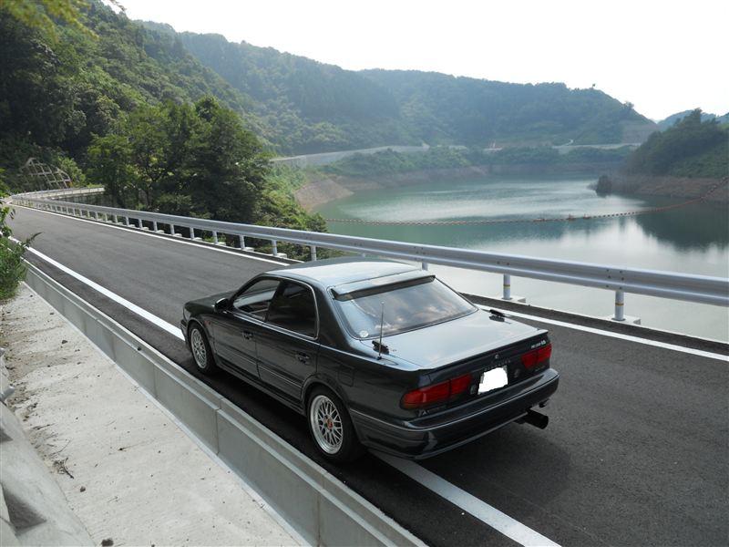 Mitsubishi Diamante, sedan, japoński samochód, motoryzacja, JDM