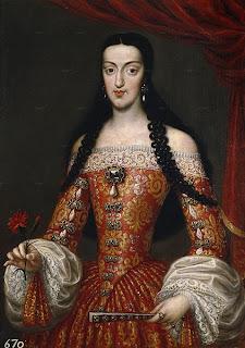 María Luisa de Orleans, esposa de Carlos II.