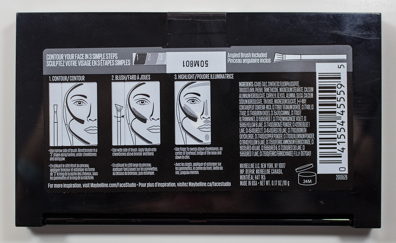 Warpaint And Unicorns Dare To Compare Loreal Infallible Pro Maybelline Face Studio V Shape Powder 01 Light Med Facestudio Master Contour Medium Back