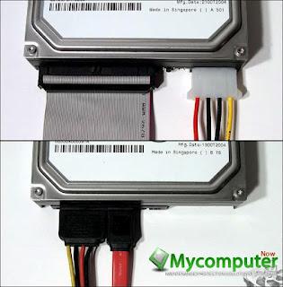 مكونات جهاز الكمبيوتر من أ إلىي Sata-ide