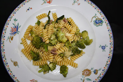 fusilli con i broccoli