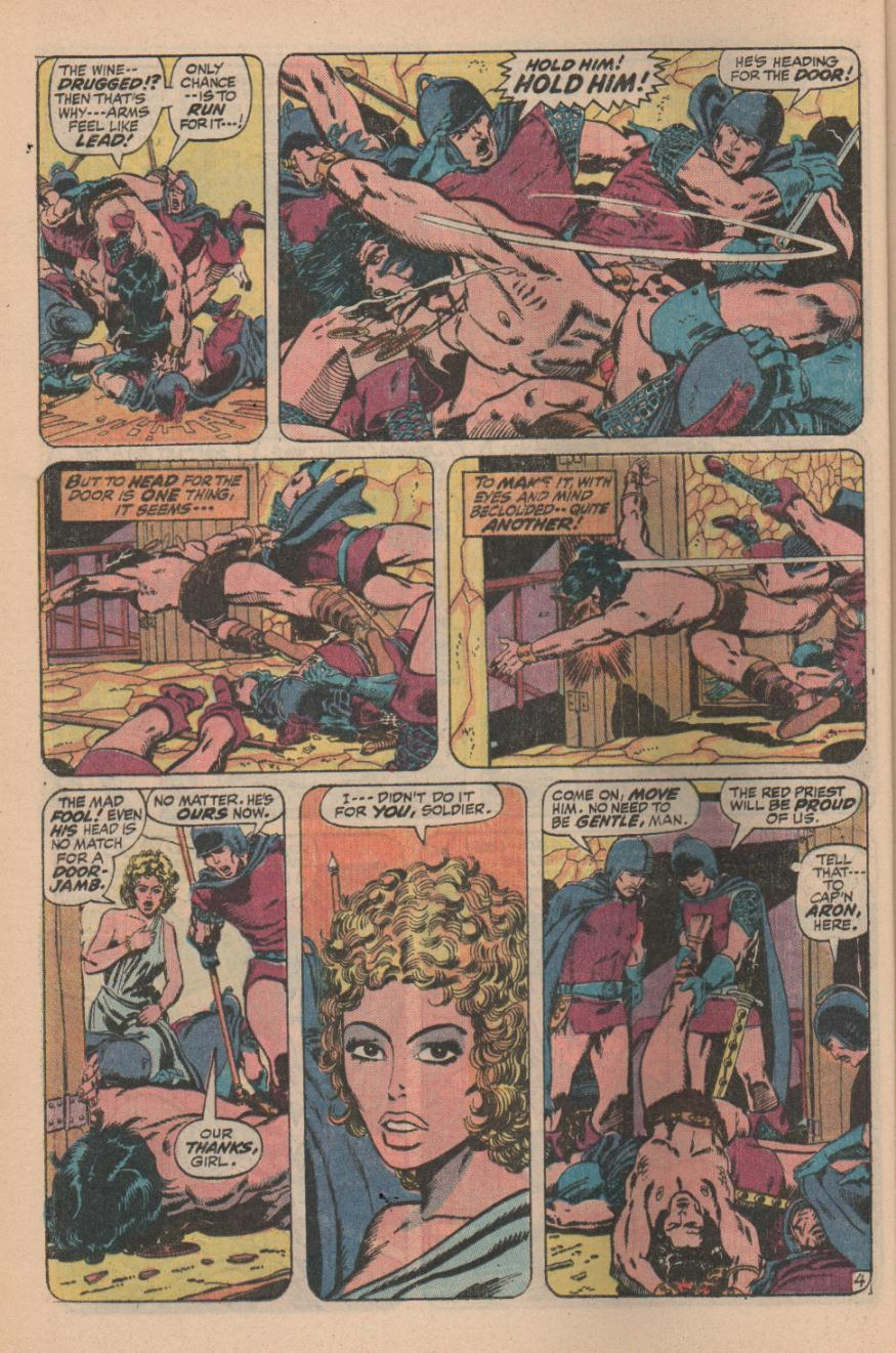 Conan the Barbarian (1970) Issue #11 #23 - English 6