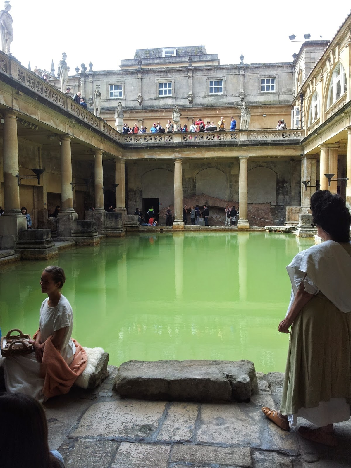 Main pool of Roman baths