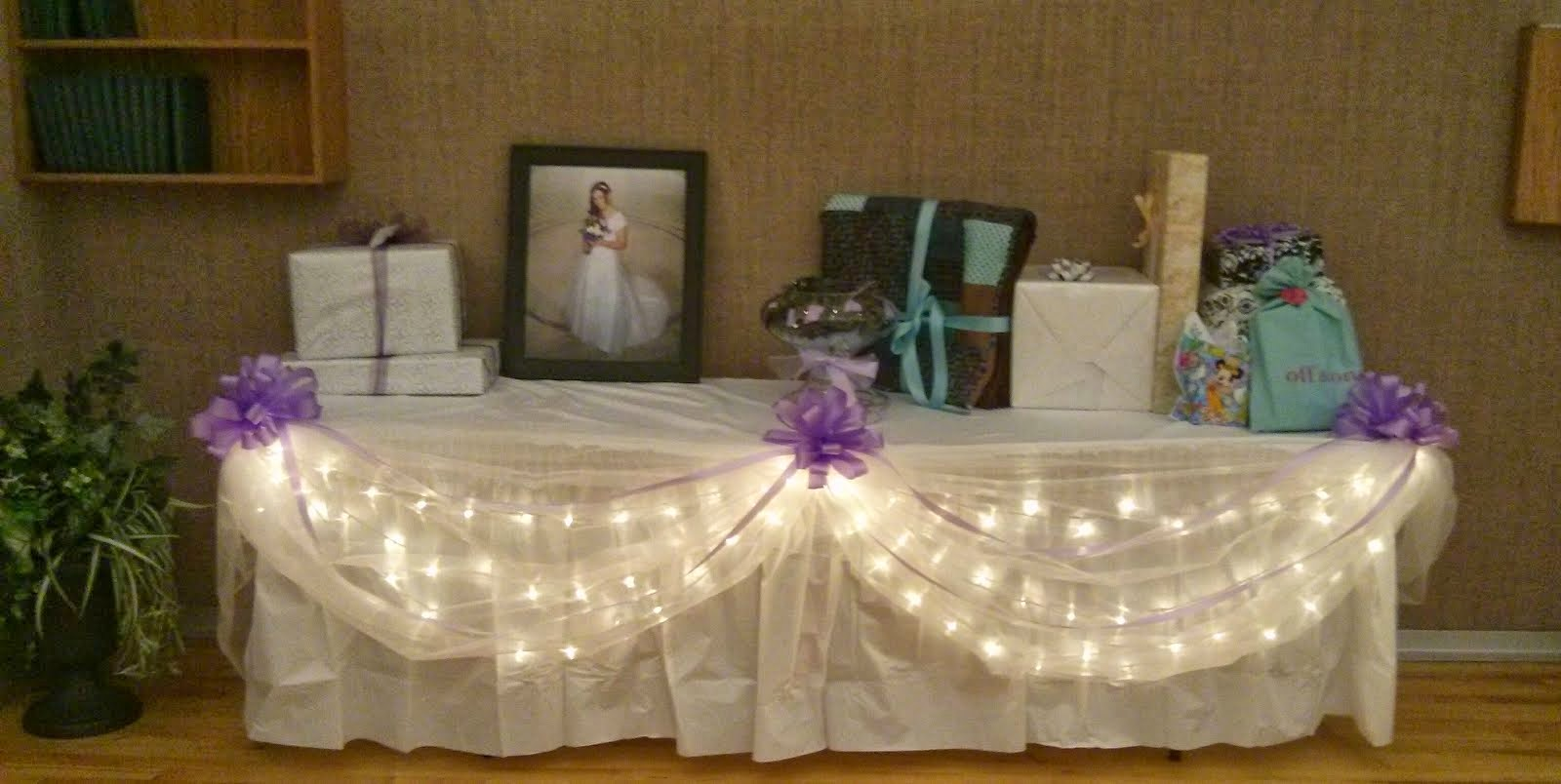 Ideas Gift Table At Wedding Creative And Party Decor Packages