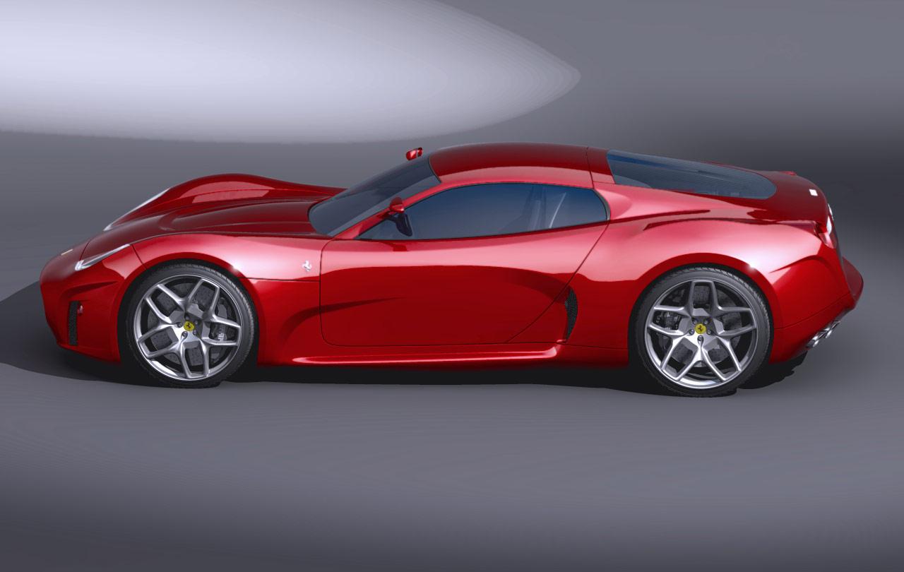 Daily Concept Cars The 2008 Luca Serafini Ferrari Concept