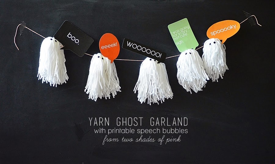 Ghost Garland by Two Shades of Pink
