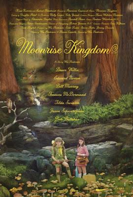 Cartel de la película Moonrise kingdom que inaugurará el Festival de Cannes el 16 de mayo