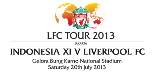 Pertandingan Indonesia XI VS Liverpool GBK 20 Juli 2013