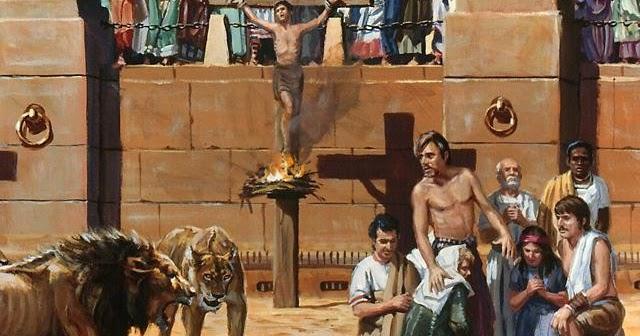 A beleza do poder espiritual para os tempos de perseguição