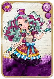 Ever After High Coloring Pages Madeline Hatter at
